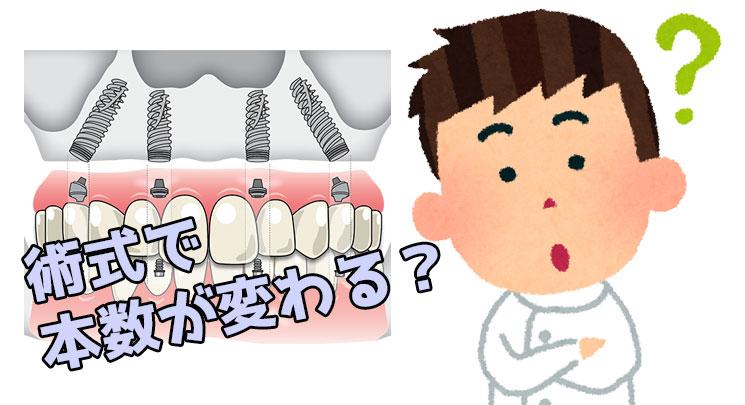 総入れ歯 術式 本数 ザイゴマ